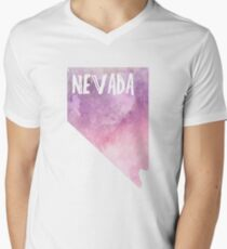 Nevada - Pink&Purple Watercolor  T-Shirt