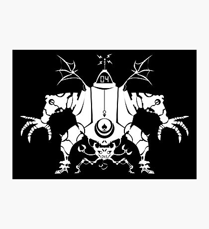 Killbot 04 - Psiclops and CRABS  Photographic Print