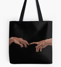 The Creation of Adam Tote Bag