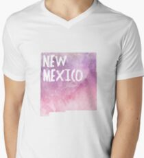 New Mexico - Pink &  Purple  T-Shirt