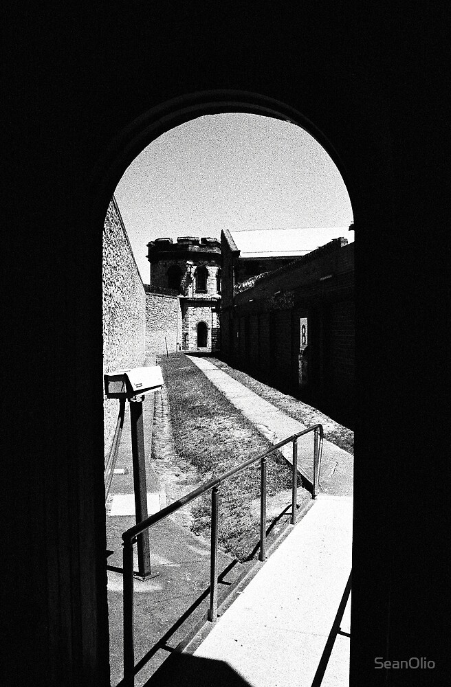 View From Inside The Hanging Tower, Old Adelaide Gaol by SeanOlio
