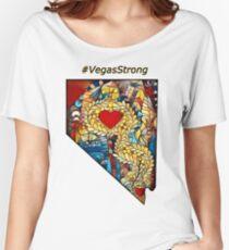 #Vegas Strong v.4 Women's Relaxed Fit T-Shirt