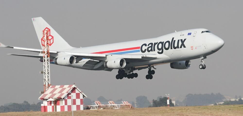Cargolux® B747-400-C by Paul Lindenberg