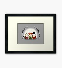 Halloween Witches Framed Print