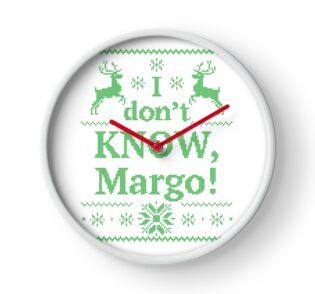 Quot Christmas Vacation Quot I Don T Know Margo Quot Green Ink Quot Men