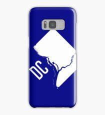 DC Outline Samsung Galaxy Case/Skin