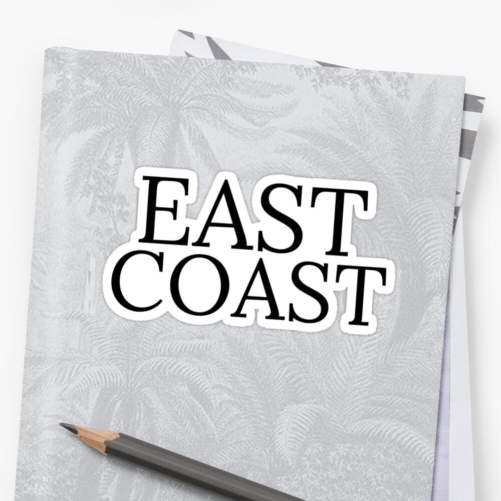 Ostküste Sticker