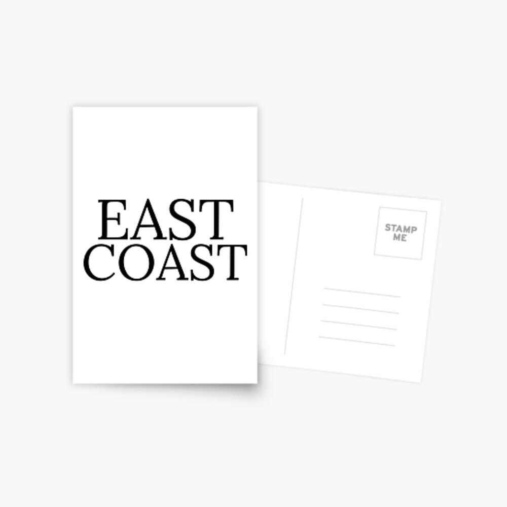 Ostküste Postkarte