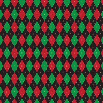 Christmas Argyle by keltickat