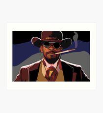 Lámina artística Ilustración de Django