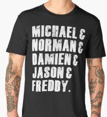 Michael & Norman & Damien & Jason & Freddy Men's Premium T-Shirt