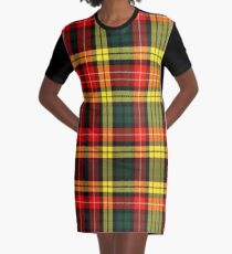 BUCHANAN TARTAN Graphic T-Shirt Dress