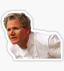 Gordon Ramsay Angry Celebrity Kitchen Nightmares Hells Kitchen Sticker
