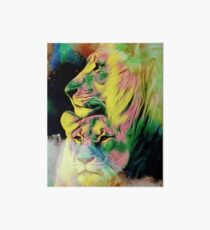 Lion Love Art Board