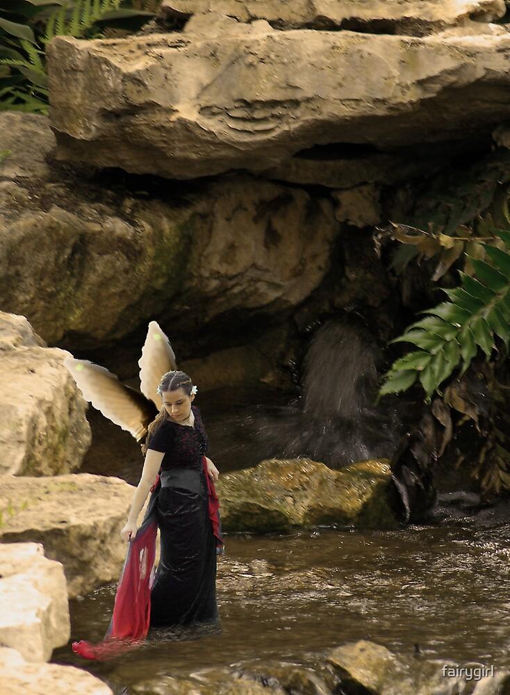 Leaning Fairy by fairygirl