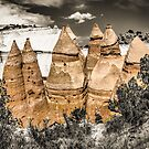 tent rocks 3 by Bruce  Dickson