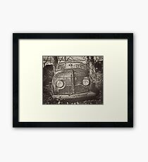 Retro Crosley Framed Print