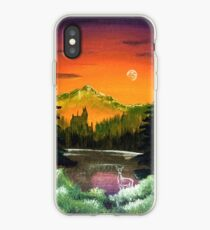 """""""Schwarzer See"""" iPhone-Hülle & Cover"""