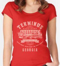 Terminus Sanctuary Community (light) Women's Fitted Scoop T-Shirt