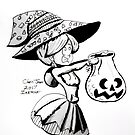 INKTOBER: Candy Witch by Chris Jaser