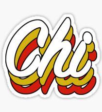 Retro Chi Sticker