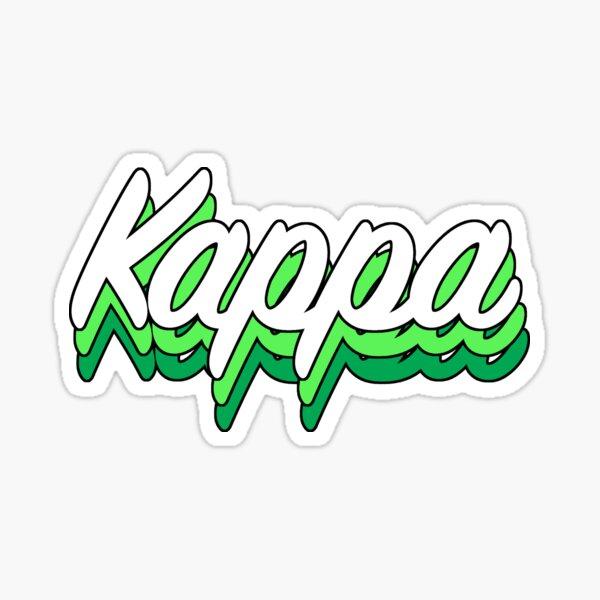 Retro Kappa  Sticker