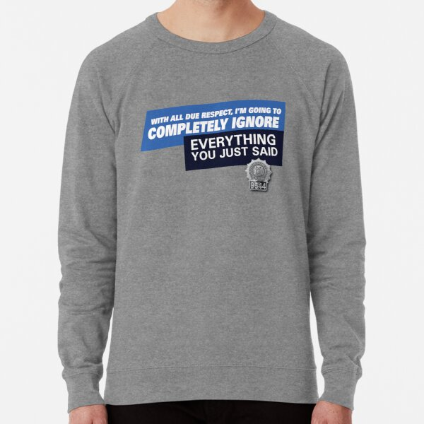 Ignore • Brooklyn 99 Lightweight Sweatshirt