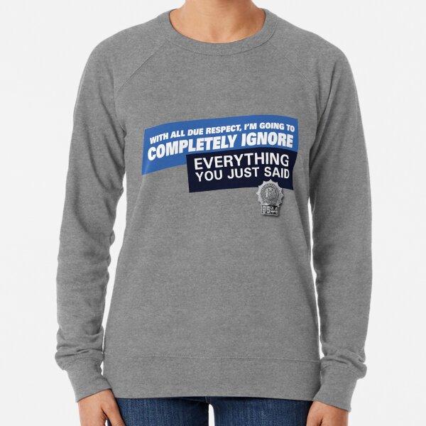 Ignore •Brooklyn 99 Lightweight Sweatshirt