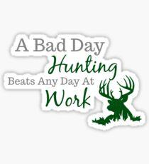Bad Day Hunting Sticker