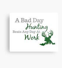Bad Day Hunting Metal Print