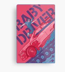 Baby Driver Alternate Movie Poster Metal Print