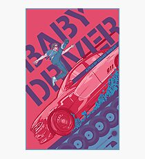 Baby Driver Alternative Movie Poster Photographic Print