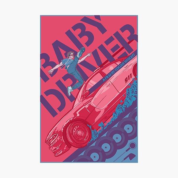 Baby Driver Alternate Movie Poster Photographic Print