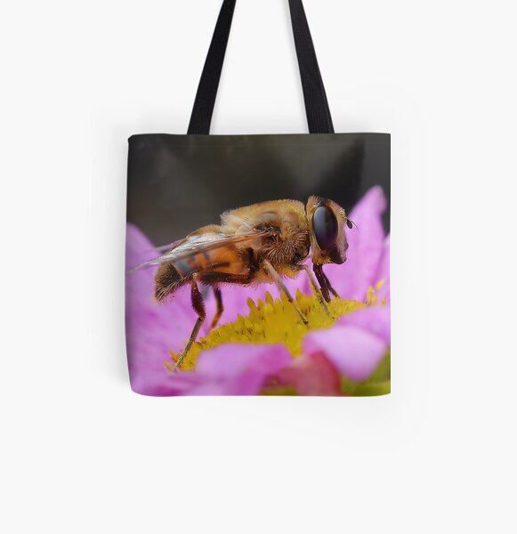 hoverfly profile All Over Print Tote Bag