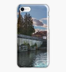 Wallingford Bridge Into The Town iPhone Case/Skin