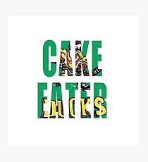 Cake Eater Photographic Print