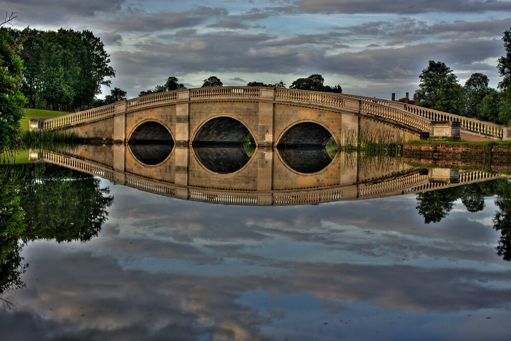 Bridge Reflection by LeeMartinImages