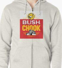 Bush Chook Zipped Hoodie