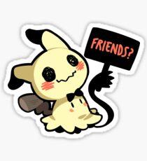 Be Friends with Mi(mikyu)? Sticker