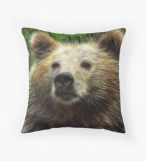 Pappa Bear Throw Pillow