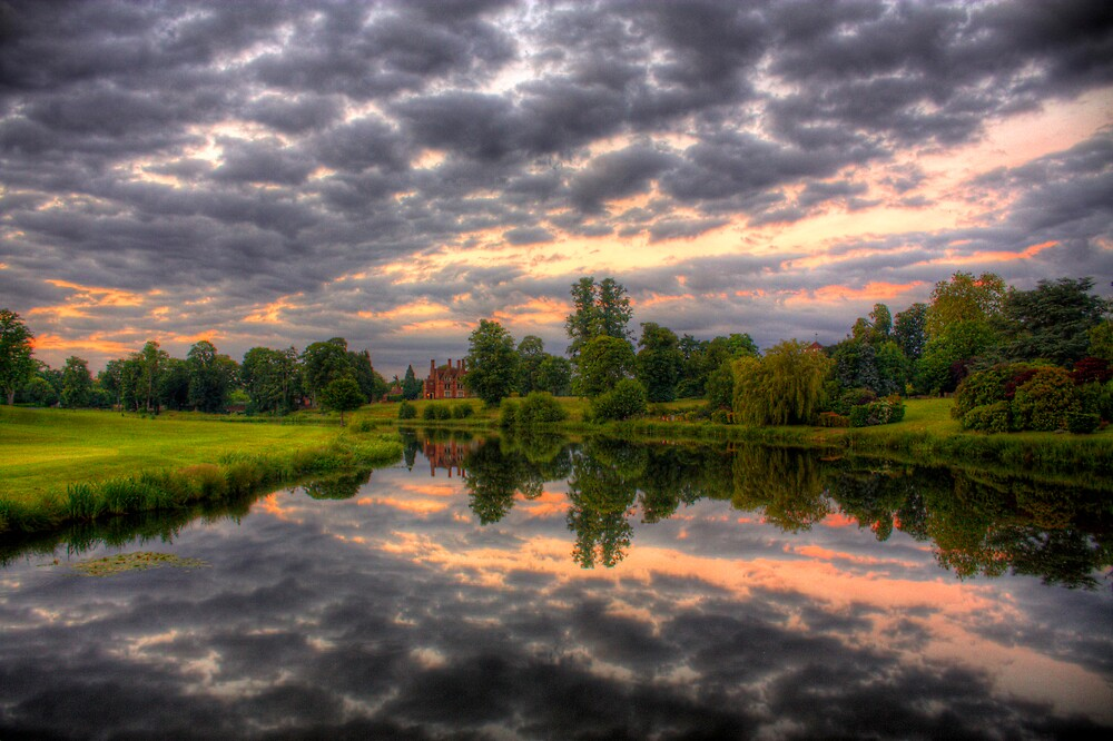 Cloudy Reflections by LeeMartinImages