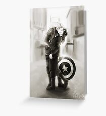 stucky - unconditional surrender Greeting Card