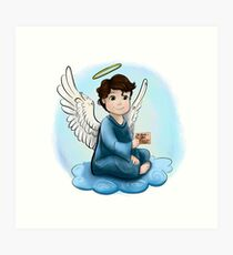 My Little Angel Art Print