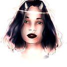 Angel Demon girl by ria-draws