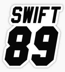Swift Jersey Sticker
