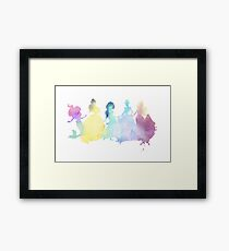 The Colors of the Princesses Framed Print