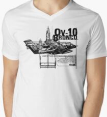OV-10 Bronco Men's V-Neck T-Shirt
