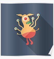 Droll Monster Poster