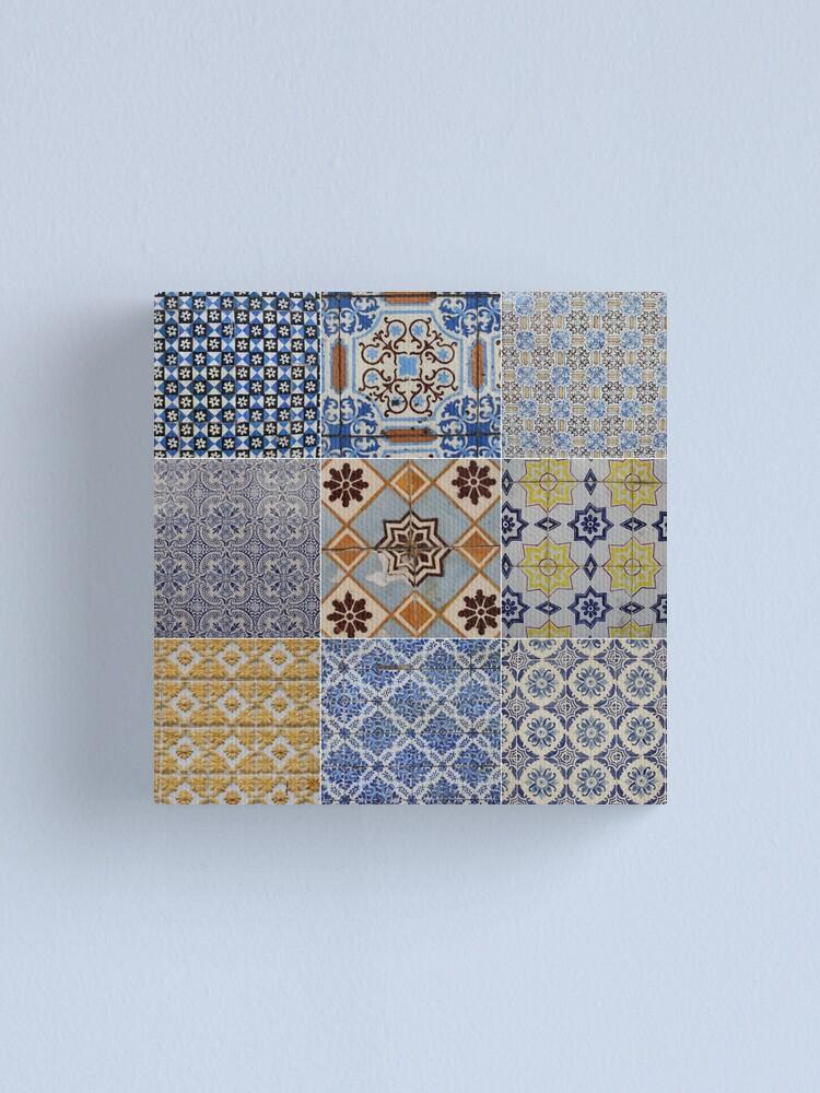 Alternate view of Porto Tiles Canvas Print