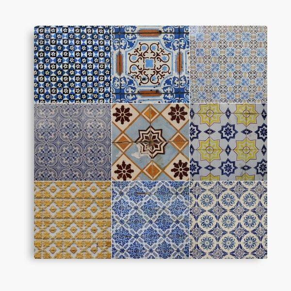 Porto Tiles Canvas Print